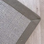 Sisal Driftwood with Taupe Coloured Binding