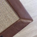 Sisal Wild Honey with Natural Leather Binding